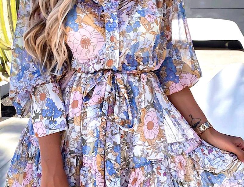 Kleid Color Blossom