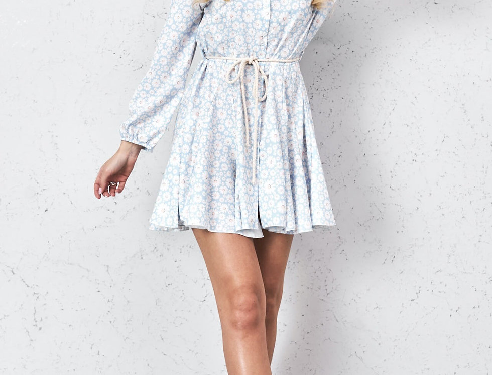 Kleid Blue Daisy