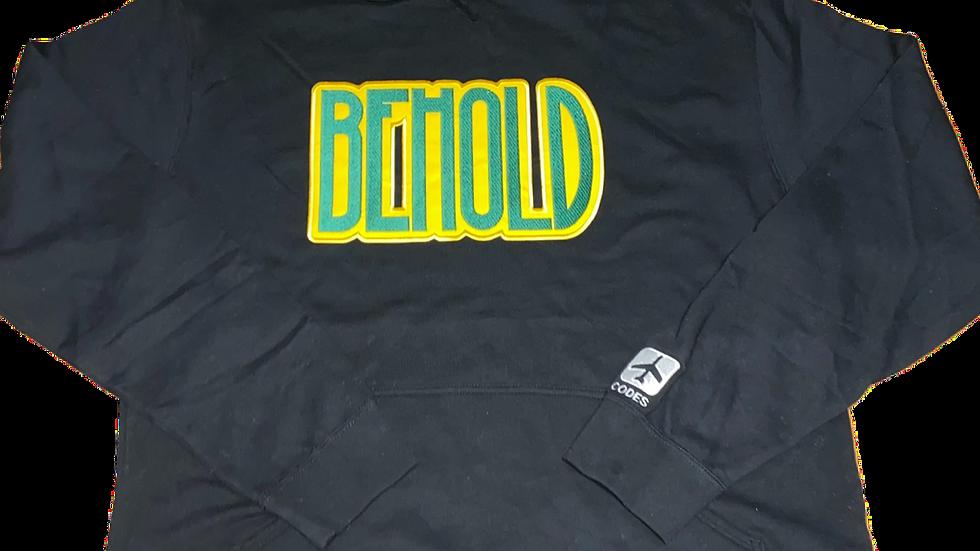 BEHOLD HOODIE (black)