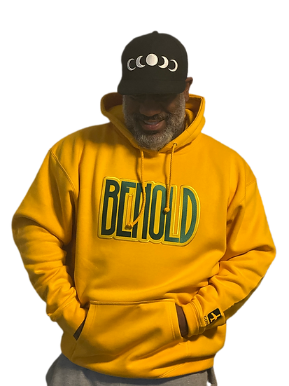 BEHOLD HOODIE (gold)