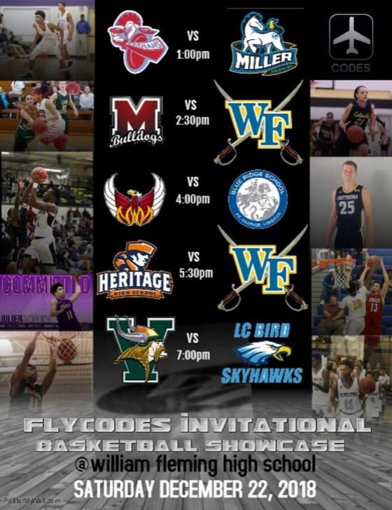 Flycodes Invitational Basketball Showcase
