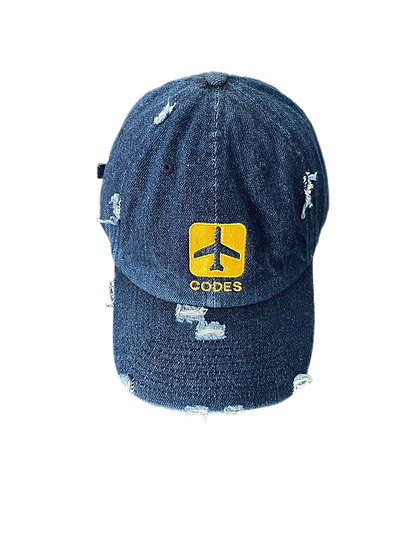 denim fly dad hats