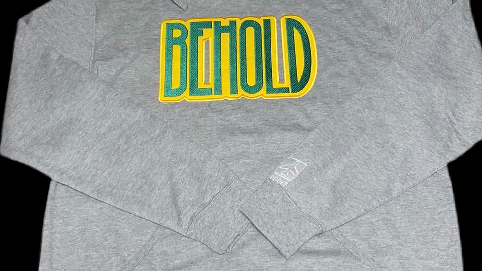 BEHOLD HOODIE (grey)