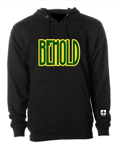 Black Behold Hoodie 3x and 4x