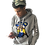 """Thumbnail: """"Old School"""" grey colonel hoodie (small-2x)"""