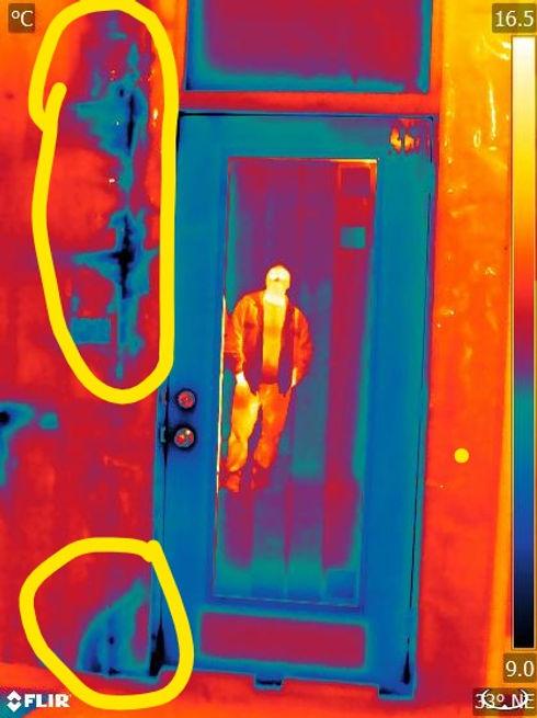 Blower Door Test, Pre-Drywall