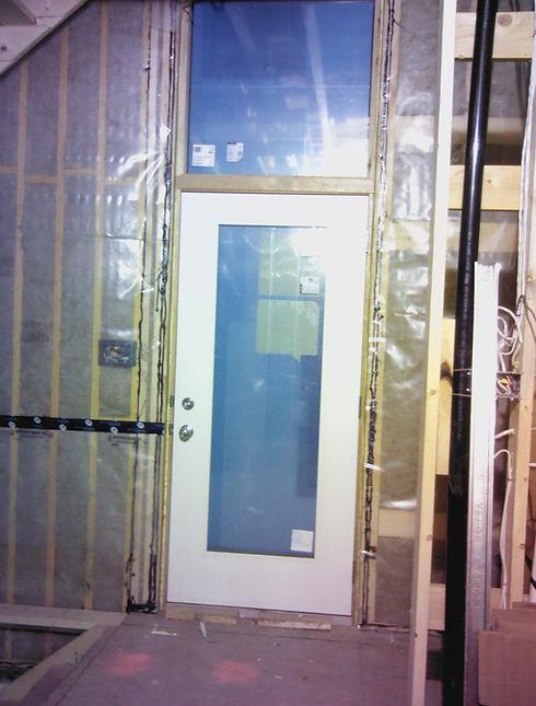 New Home Construction Blower Door Test