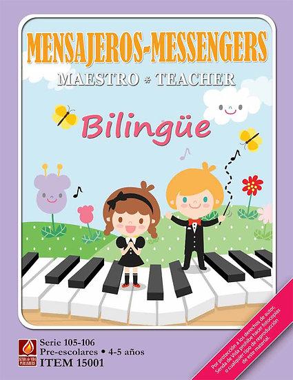 MENSAJEROS MAESTRO BILINGUE 3 to 4 ANOS