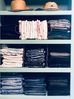 Organizing Jeans