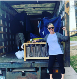 Allison in Moving Truck 2020