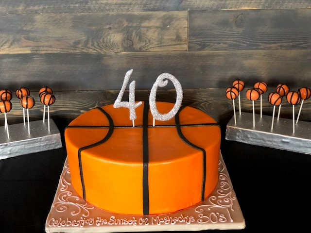 40th Birthday Party for Athlete