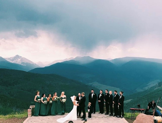 Vail Wedding Storm coming