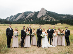 Flatirons Wedding Party