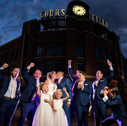 Coors Field Wedding