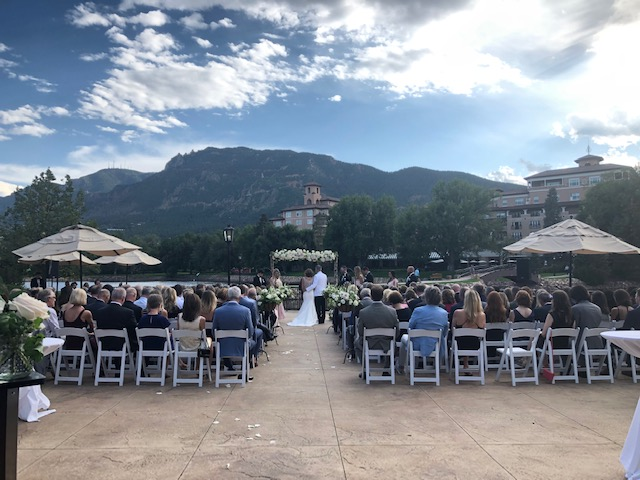 Broadmoor Wedding Ceremony