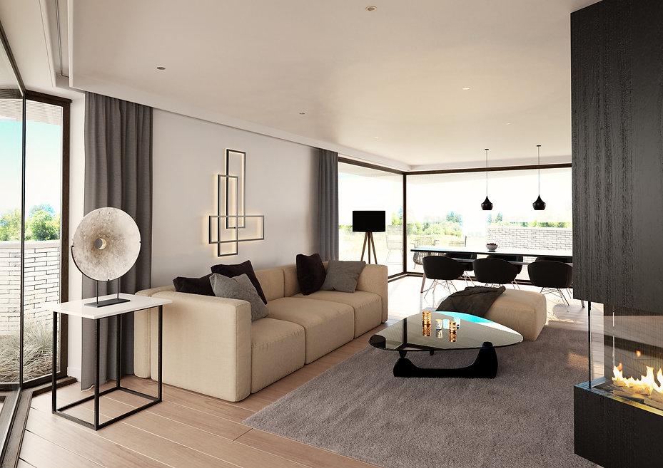 Woonruimte penthouse Hoeselt