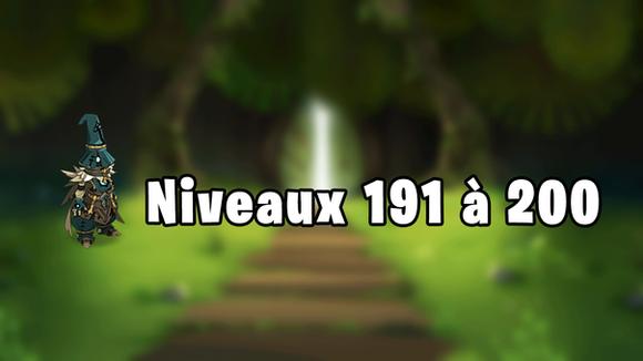 Donjon Dofus 191 à 200 - Boufcoul