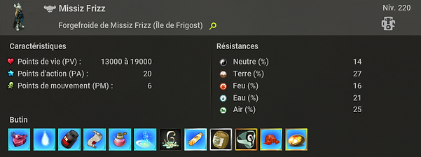 Missiz Frizz - Dofus