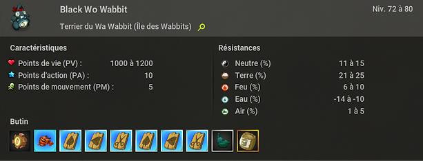 black wo wabbit dofus