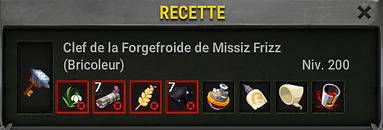 Clef Missiz Frizz -Boufcoul