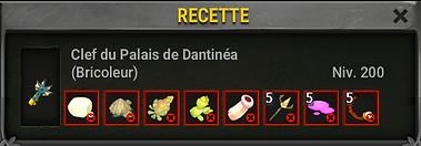 clef dantinea