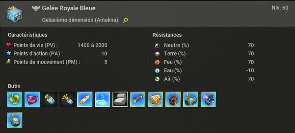 Gelée Royale Bleue Dofus