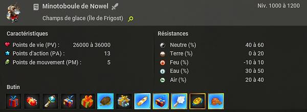 Minotoboule de Nowel - Boufcoul