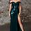 Thumbnail: Off Shoulder Sweetheart Neck Leg Slit Dress