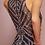 Thumbnail: Beaded High-Neck Trumpet Dress
