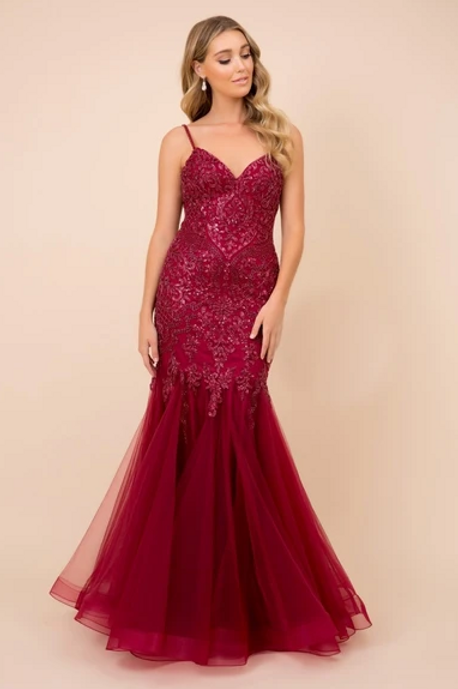 Sequined Sweetheart Neck Mermaid Dress