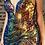 Thumbnail: Deep V-Neck Spaghetti Strap Leg Slit Dress