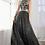 Thumbnail: Sequined Halter Neckline A-Line Dress