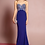 Thumbnail: Strapless Sequin Bodice Mermaid Shape Dress