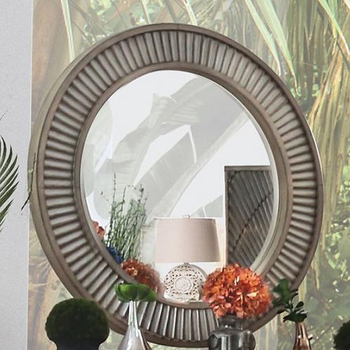 Kamalah Round Mirror