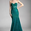 Thumbnail: Strapless Mermaid Shape Lace Dress