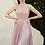 Thumbnail: Sequin Bodice Sleeveless A-Line Pleated Skirt Dress