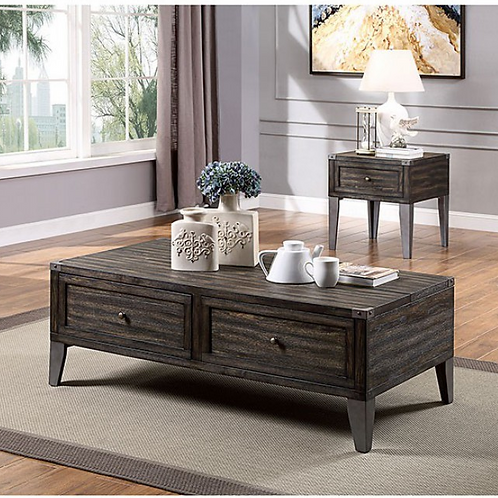 Piedmont Coffee And  End Table
