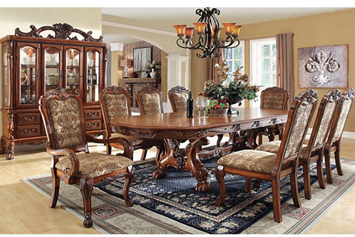 Medieve Formal Dining Table Set
