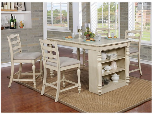 Theresa Counter Ht.  Dining Table Set