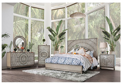 Kamalah 4 Piece Bedroom set