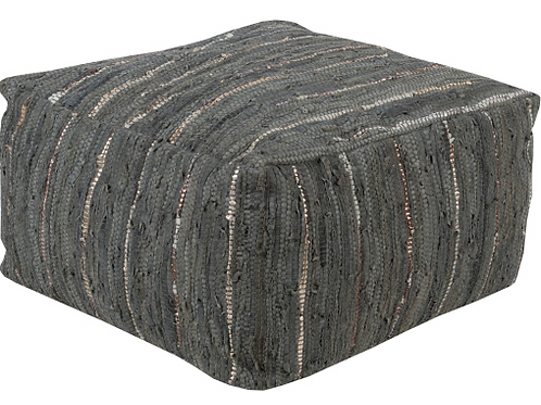 Anthracite Pouf