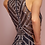 Thumbnail: High Neckline Sequined Bodice Long Prom Dress