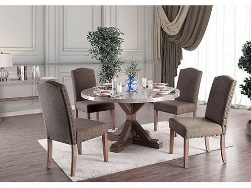 Bridgen Round Dining Table Set