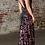 Thumbnail: V-Neck Sequined Leg Slit Dress