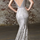 Thumbnail: V-Neck Spaghetti Strap Mermaid Dress