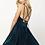 Thumbnail: V-Neckline A-Line Short Homecoming Dress