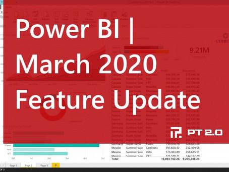 Power BI Update | March 2020
