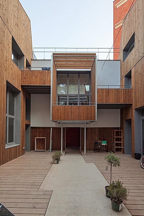 Balcon et terrasse en acier galvanisé