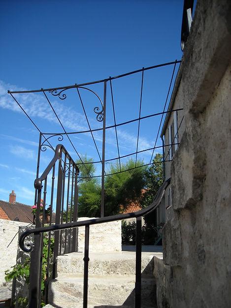 Rampe fer forgé XIXème siècle