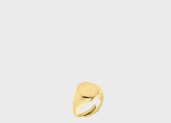 Anello sigillo oro piccolo